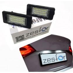 kennzeichenhalter LED Audi TT