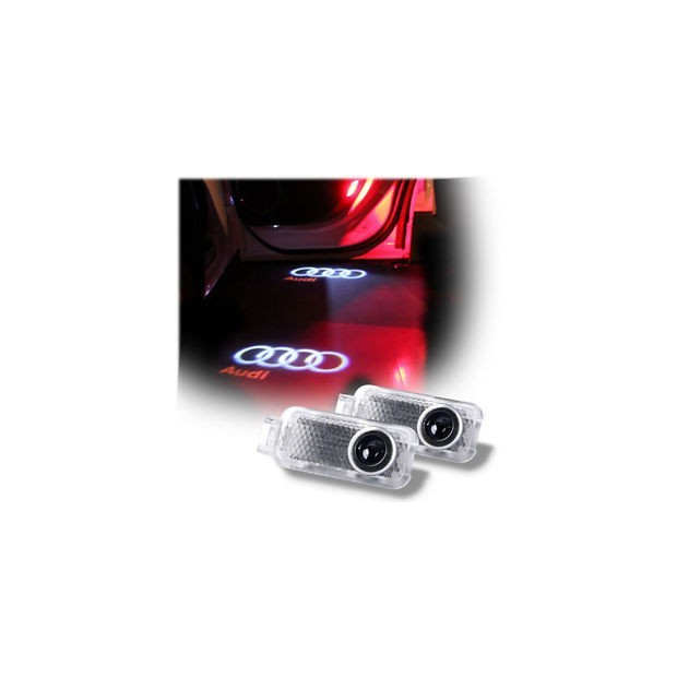 Del soffitto del LED, porta il logo AUDI - Laser di Logo LED Audi
