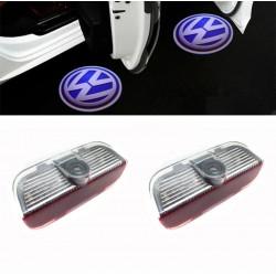 LED - türer mit logo-Volkswagen - Logo-Laser-LED, Vw