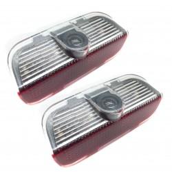 Diodo EMISSOR de luz de portas com logo Vw - Logo Laser diodo EMISSOR de luz Vw