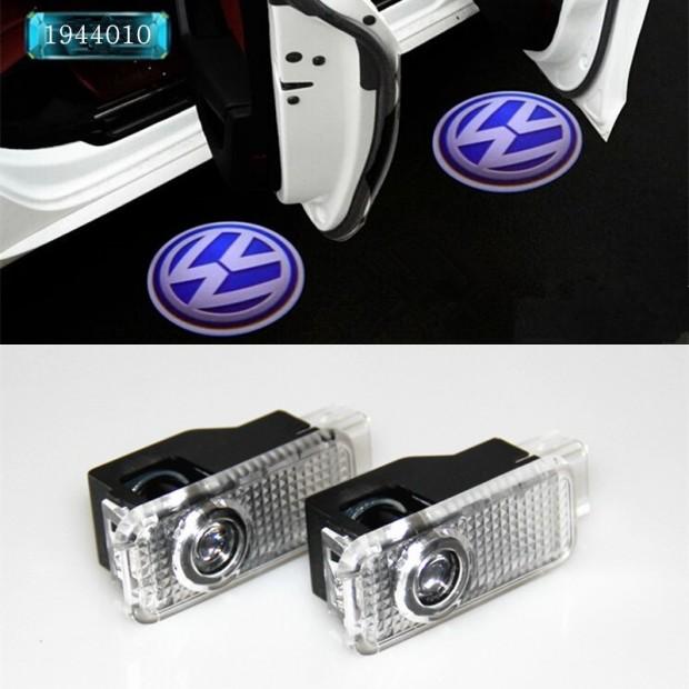 Doors LED with Volkswagen - Logo Laser LED Vw logo