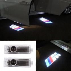 LED de puertas con logo BMW - Logo Laser LED BMW