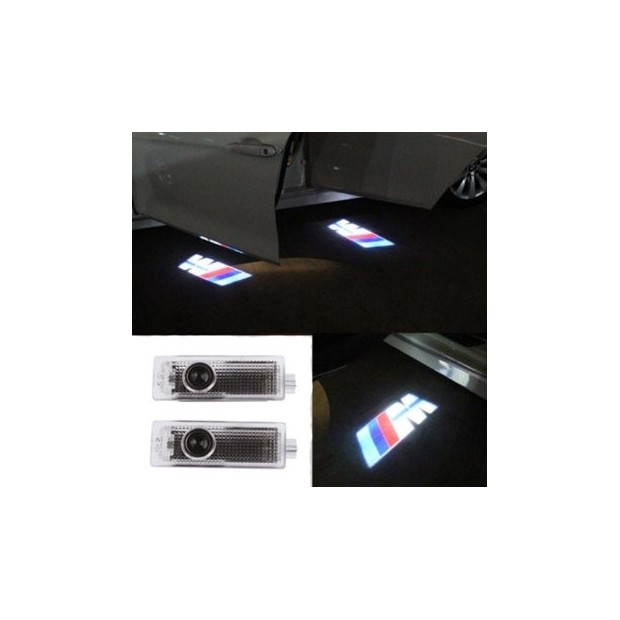 LED porte le logo BMW