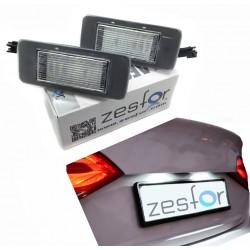 Plafones matrícula LED Opel Zafira C (2012-2016)