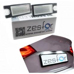 Plafones matrícula LED Volvo C70 V50, S60, S60L, V40, XC90, S80, S80L, V60, XC60