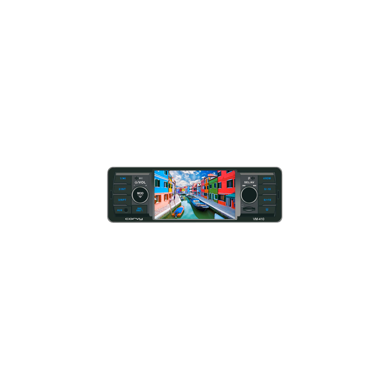 Leitor MP4 com tela de 4,1 polegadas
