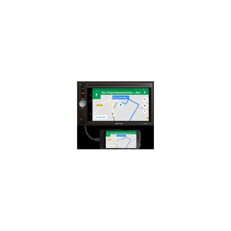 """Doppio din touch screen 6.2"""". Sistema operativo WinCE"""