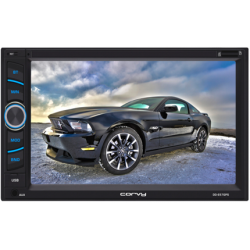 """Double din touch screen 6.2"""". Operating system WinCE"""