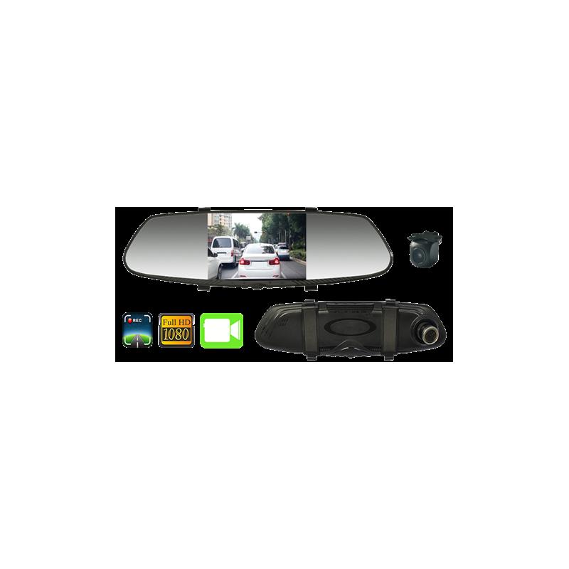 """Espejo retrovisor con pantalla de 4,3"""""""