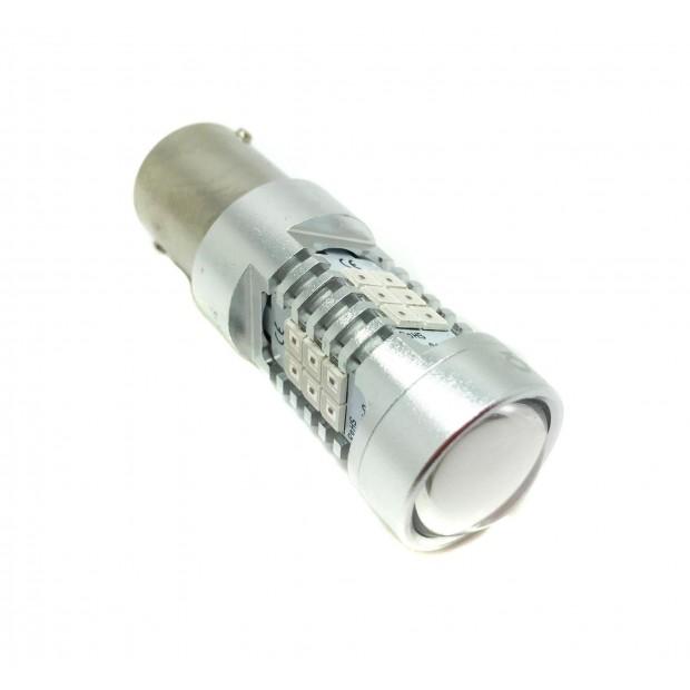 Bulbo claro do diodo EMISSOR de luz P21W Âmbar Canbus - TIPO 77