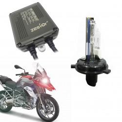 Kit xenon Motorrad H4 6000K 4300k - Typ-4 DIGITALE CANBUS 55W