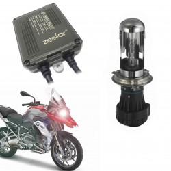 Kit Bixenon Motorrad H4 6000K 4300k - Typ-4 DIGITALE CANBUS 55W