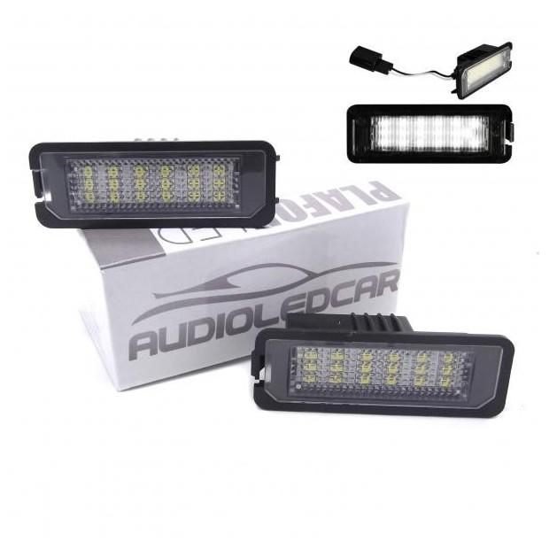 Painéis LED de matrícula automóveis (2009-2015)