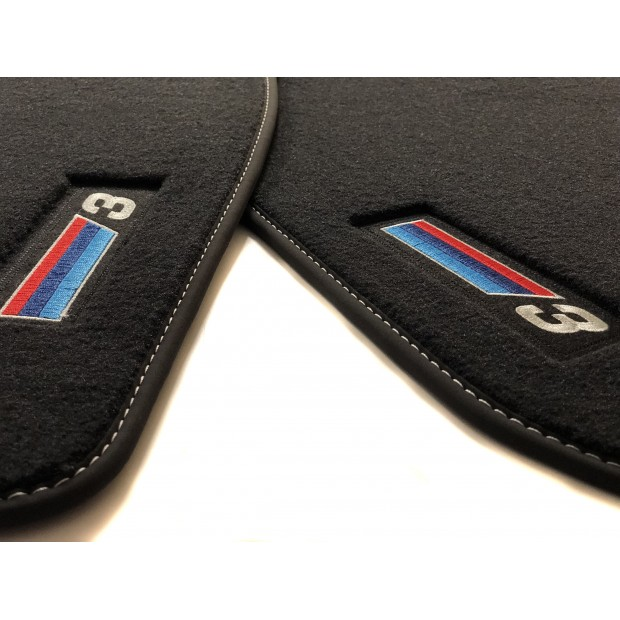 Floor mats, PREMIUM for BMW 3 Series E46 (2-door 1998-2005)