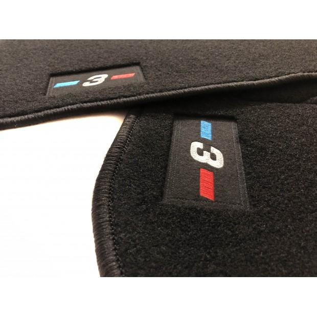 Alfombrillas para BMW Serie 3 E90 / E91 / E92 acabado M (2005-2012)