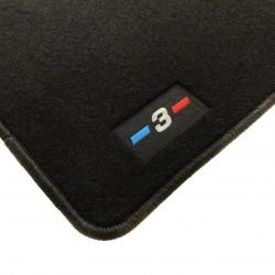 Tapetes para BMW Série 3 E90 / E91 / E92 acabamento M (2005-2012)
