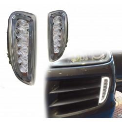 Kit de luzes de condução diurna led Porsche Cayenne