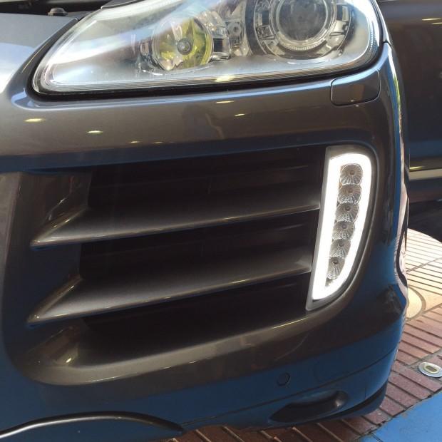Kit led-tagfahrlicht Porsche Cayenne