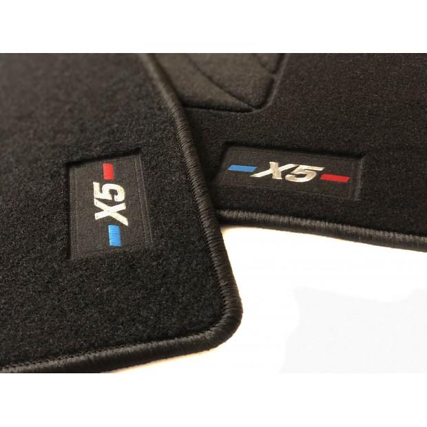BMW x5 e70 année-modèle 2007-Caoutchouc-Tapis De Sol Voiture En Qualité d/'origine
