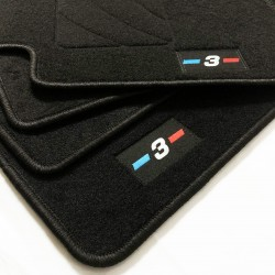 Tapis de sol pour BMW Série 3 E46 de la Refonte de la finition M (2 portes 2002-2005)
