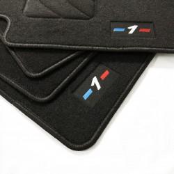 Tapetes para BMW Série 1 E81 e E87 acabamento M (2004-2011)