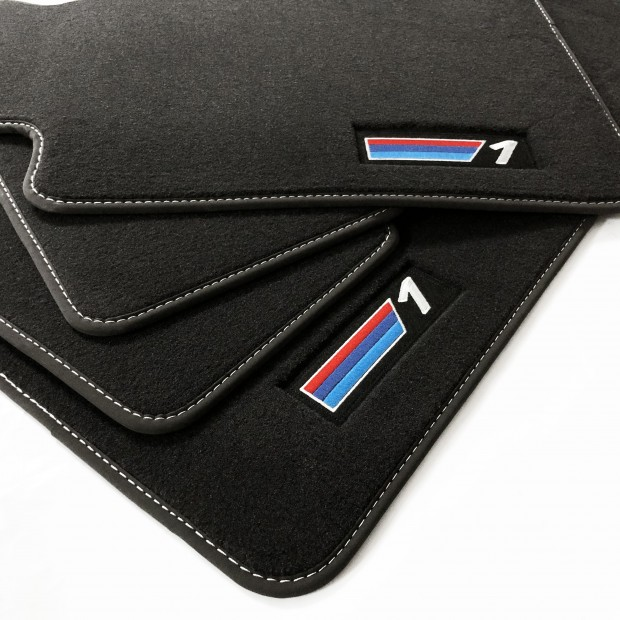 Alfombrillas PREMIUM para BMW Serie 1 E81 y E87 (2004-2012)