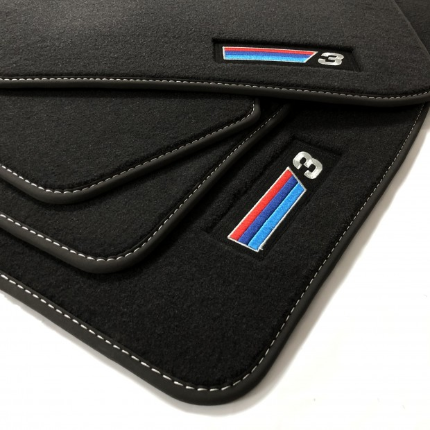 Floor mats, PREMIUM for BMW 3 Series F30 and F31 finish M (2010-2014)