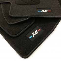 Floor mats for BMW X6 E71 finish M (2008-2014)