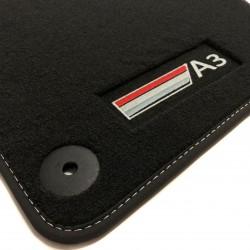 Floor mats, velours Audi A3 8p