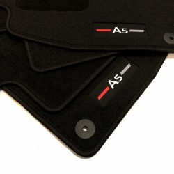 Tapetes para AUDI A5 8T acabamento Sportline (2007-2014)