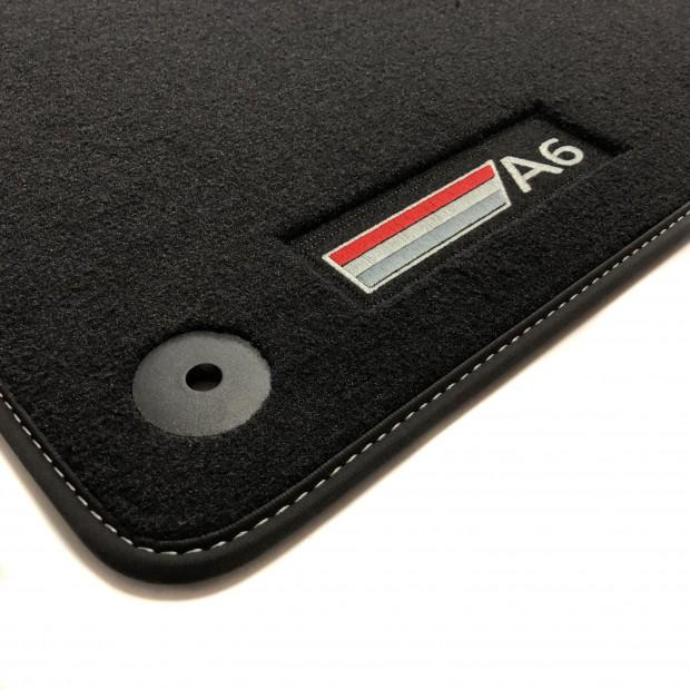 Alfombrillas A6 C6 Restyling Premium (2007-2011)