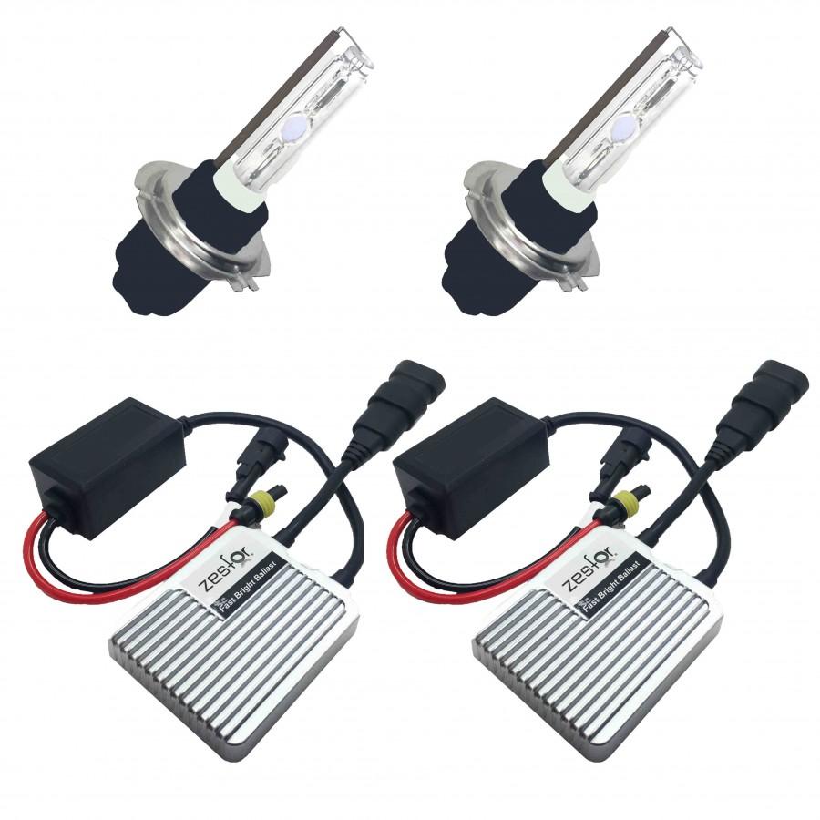 Kit xenon Ford 35W SLIM ideal para instalação em veículos Ford Focus, Mondeo Festa Kuga Ka Galaxy etc