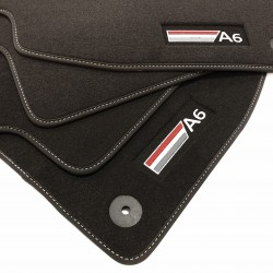 Fußmatten AUDI A6 c7 Sportline-Premium (2011-2014)