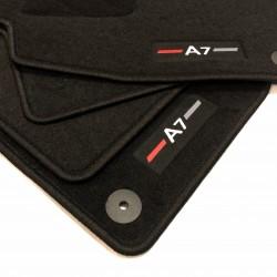 Tapis de sol pour AUDI A7 finition Sportline (2011-2014)