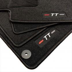 Tapetes AUDI TT MK II (8J) acabamento Sportline (2006-2015)