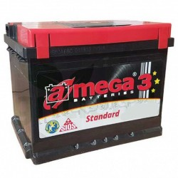 Bateria carro econômica 74AH - Mega®