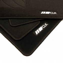 Floor mats, mercedes benz CLK W209
