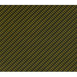 Lámina Hidroimpresión Carbono Oro 100x100cm