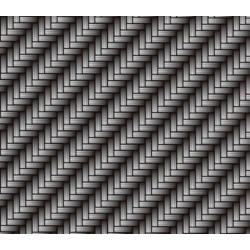 Lámina Hidroimpresión Carbono plata