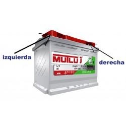 Battery car Premium range 78AH - Mutlu®