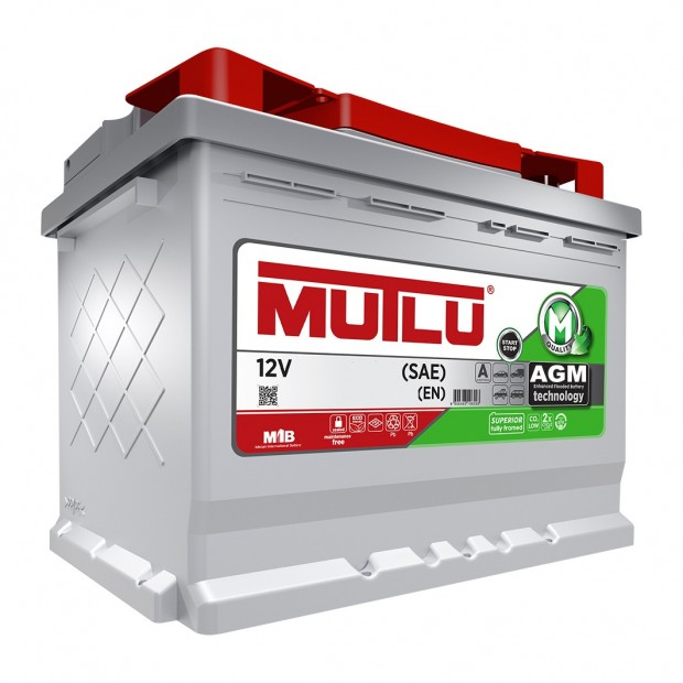 Battery car AGM with Start Stop 70 Ah Mutlu®