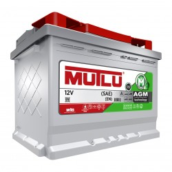 Battery car AGM with Start Stop 80 Ah - Mutlu®