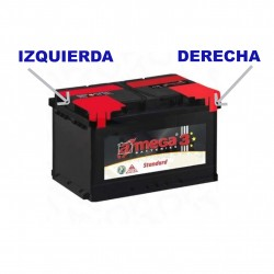 Battery car economic 44AH - Mega®