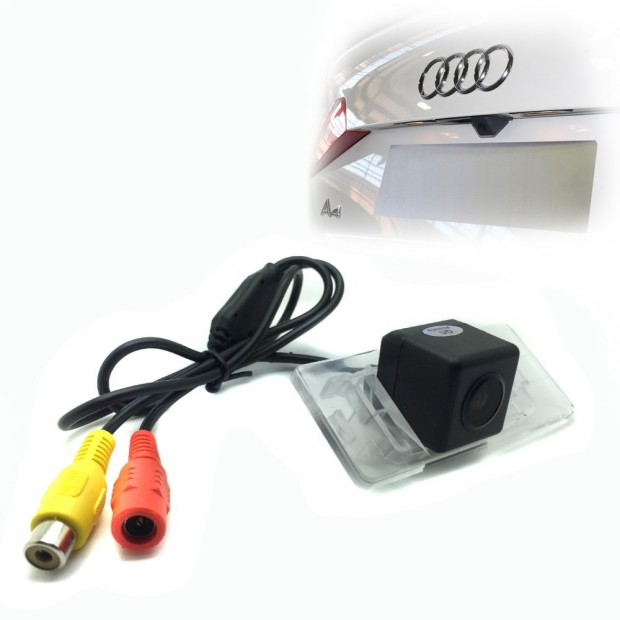 camera parking the Audi A6 C7