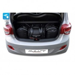 Kit suitcases for Hyundai I10 II (2013-)