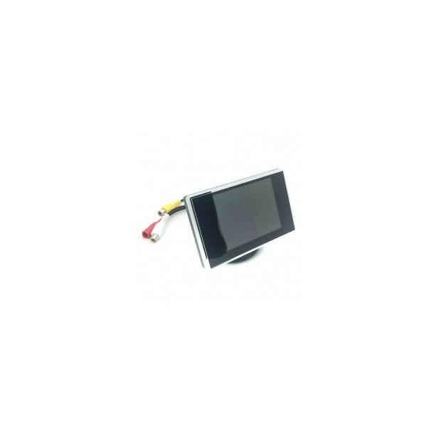 Portatarga kit con sensori di parcheggio, telecamera e retrovisore schermo