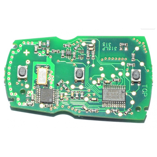 Key BMW 433Mhz (Includes everything: battery, chip, and electronics)