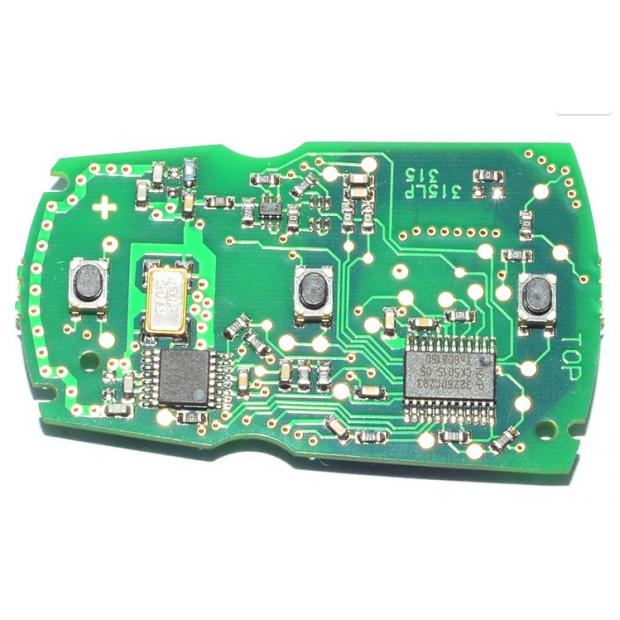 Llave BMW 433Mhz (Incluye todo: pila, chip y electrónica)