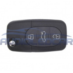Carcasa para llave de Audi A2 A3 A4 A6 A8 S3 S4 S6 S8 TT - Tipo 2