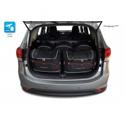 Kit suitcases for Kia Carens IV (2013-)